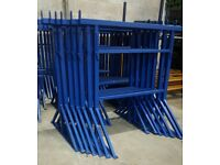 Heavy duty 40mm box section builders trestle.