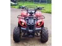 2013 Condor 125cc quad, like new