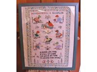 Vintage Sampler from 1936 in Beautiful Condition.