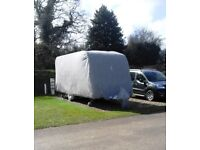 Wing Mirrors World Bailey Olympus 534 2011 Water Resistant Breathable Caravan Cover 4Ply Green