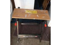 workbench Black decker workmate 300 table