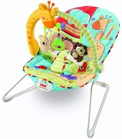 Fisher Price Luv U Zoo Playtime Bouncer Baby Infant Play Relax
