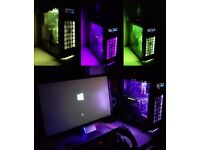 High End Gaming PC i7 / 24GB Ram / Gtx 970 4GB/256GB SDD / 1TB HDD 20 x New Games