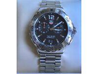 TAG Heuer Mens Formula 1 Alarm Quartz Watch WAU111A