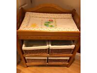 Mamas & Papas Pine Baby Changing Unit