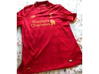Liverpool Football Club Large shirt. Pet and smoke free home