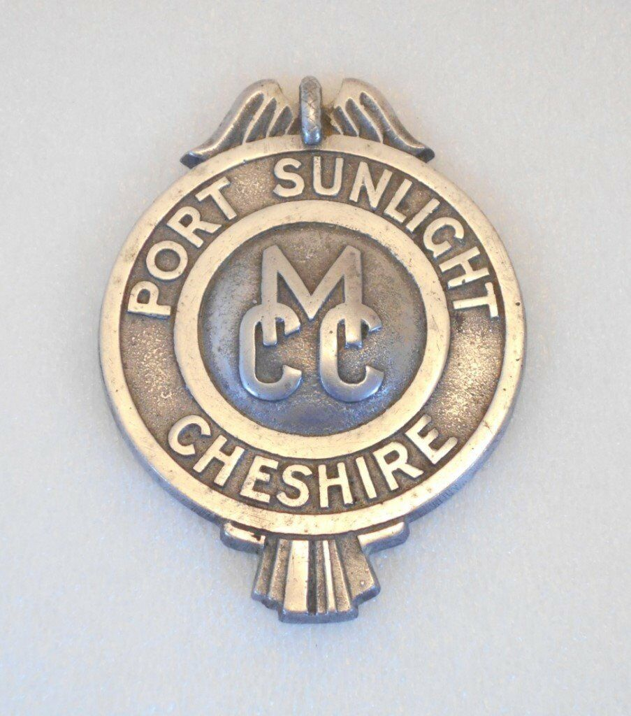 Car Badge - Port Sunlight Cheshire MCC  Part of a large set of Automobilia  for sale  | in Liverpool, Merseyside | Gumtree