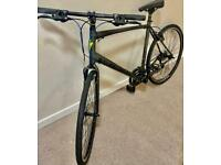 ✅ XL 23 inch 18 speed dark Grey and green refurbish specialised serious sport hybrid Bicycle📲