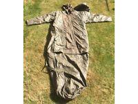 Vintage German Army sleeping bag / parka
