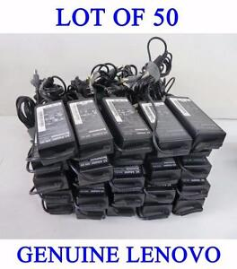 Lot of 50 x Genuine Original Lenovo 20V 4.5A 90W Adapters Chargers (2007-2013 models)