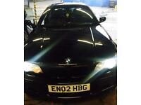 BMW 330 ci M Sport in black