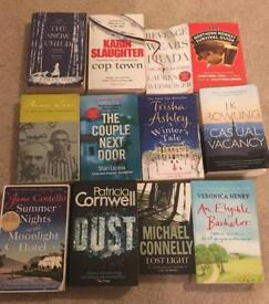 Collection of 12 books