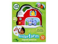 Boxed LeapFrog Fridge Farm Magnetic Animal Set