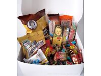 Russian snack box (RussiaInside) delivery