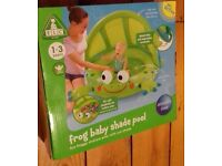 ELC frog baby shade pool NEW