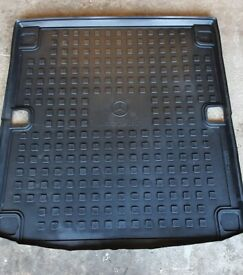 Genuine Mercedes Boot and tailgate protectors