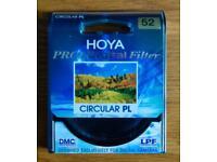 Hoya Pro1 52mm Circular Polarizer Filter