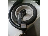 Free wheel wheelchair attachment