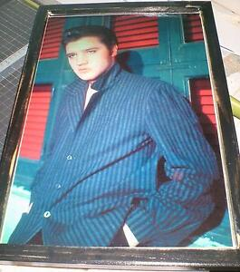 Elvis Presley - 4 diff. pics -mounted, ready to display