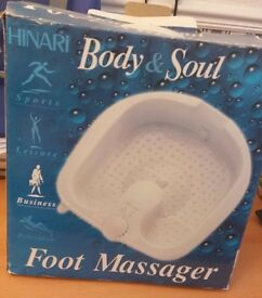 Foot spa and massager