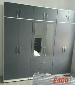 """Massive 7ft6"""" bedroom fitment in Grey"""