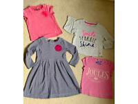 Joules girls' bundle of clothes 3-4 years