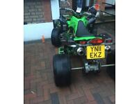 2011 ROAD LEGAL QUADBIKE