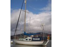 HALCYON 27 AUX SAILING CRUISER FOR SALE