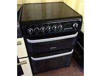 CANNON Kendal Black 60cm electric cooker