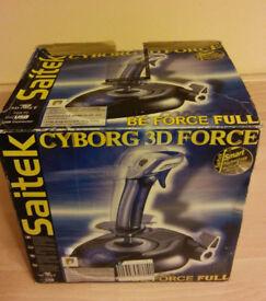 Saitek Cyborg 3D Force JoyStick USB (Ideal for Flight Sims)