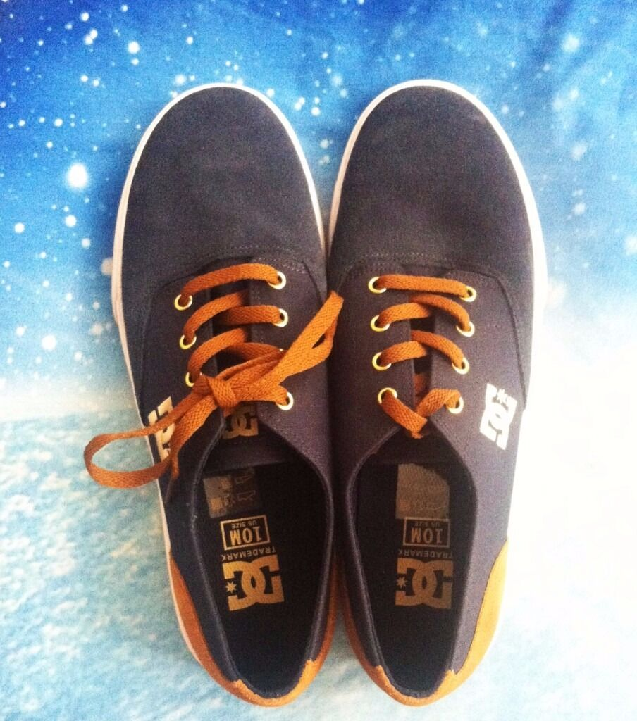 DC Shoes brand new to buyin Lawrence Hill, BristolGumtree - Hello everyone! i am selling this new pair o shoes, because it was a present or my husband but the shoes didnt fit him, so I need to seel them. The price is 30£ and the size 9 (43 italian), but they are half size smaller. If interested contact me by...