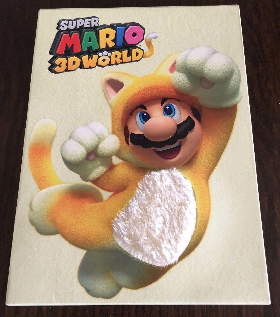Nintendo Wii U Super Mario 3D World Special Edition Furry Sleeve