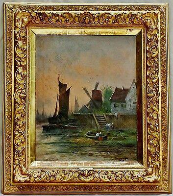 Dutch Impressionism of the 19th century, Artist: Van ENKEN oil on canvas c.1890