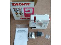 Janome Sew Mini Sewing Machine with Foot Pedal - Boxed & Unused