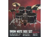 Evans SoundOff Drum Mute Box Set. Used. Great gift for Christmas. £50.00 ono.