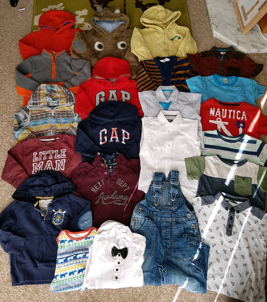 Boys 18 Months to 3 Years Bundlein Stanley, County DurhamGumtree - Lovely bundle of boys clothes Aged 18 months to 3 Years All good condition