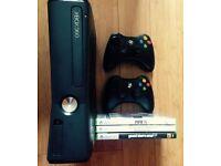 Xbox 360 Console 250gb & Games
