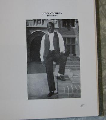 1959 Ucla College Yearbook Johnnie Cochran  Oj Simpson Lawyer  Jimmy Johnson