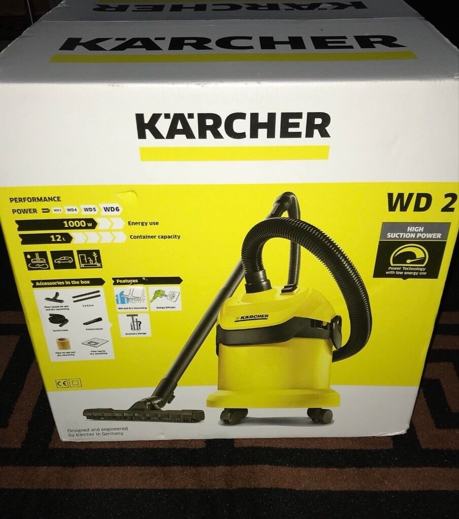 e2548cd31 Karcher WD-2 Sealed Box - Brand New WET/DRY Vacuuum Cleaner ...