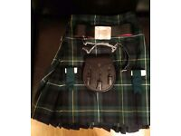 Gents Campbell of argylle kilt and accessories