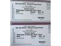 2 x Bay City Rollers concert tickets 14.12.16