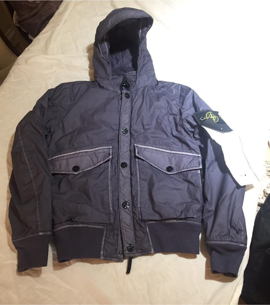 Mens jacket gumtree - Stone Island Mussola Gommata Jacket Mens Small Brand New Genuine