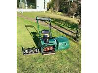 Atco Balmoral 14se cylinder lawnmower