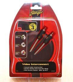 STINGER SPI8312 12-FOOT VIDEO INTERCONNECT LEAD