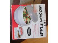 Microwave steamer brand new