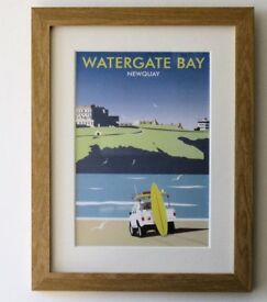 Dave Thompson Watergate Bay print