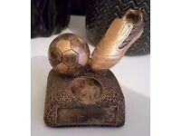 Mini Football Trophy [H 8cm] - £1