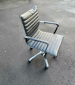 Leather style office chair