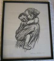 Mother & Child Print