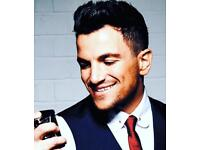 2 front row peter Andre tickets